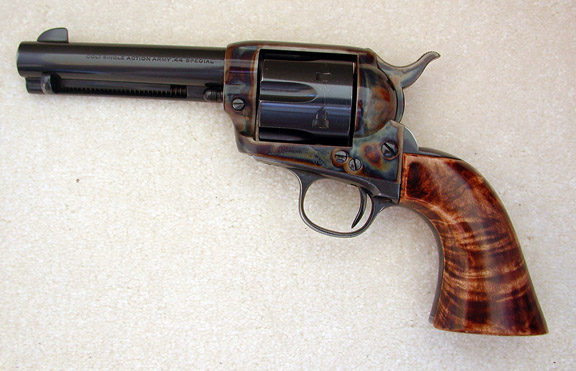 Western Six Shooters Drawing 13-8 This 1907 Colt Has Been