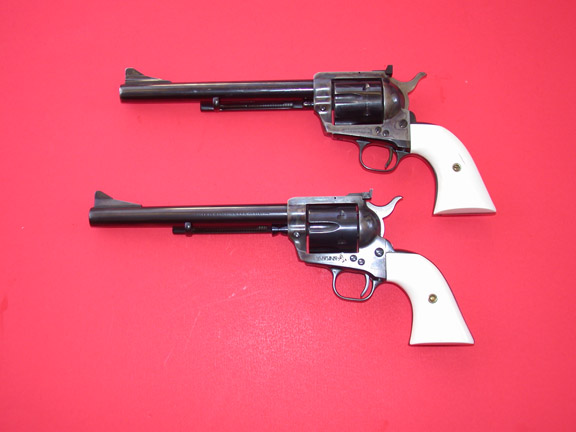 13  COLTS SINGLE ACTION ARMY AND NEW FRONTIER