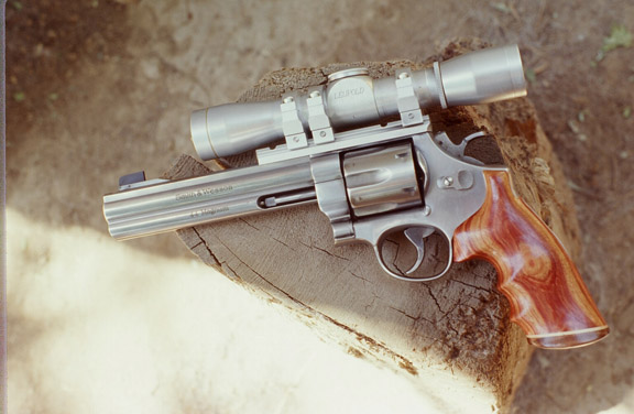 22  THE STAINLESS STEEL 44 MAGNUM THE MODEL 29